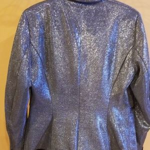 H&M Jackets & Coats - H&M SILVER WOMAN JACKET